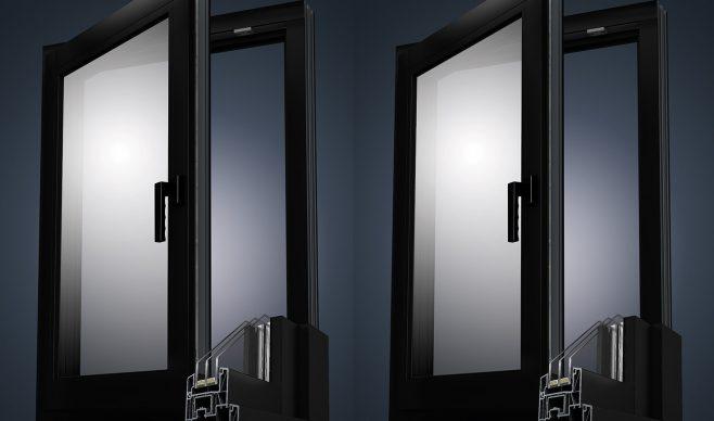 Modne i eleganckie, czyli czarne okna