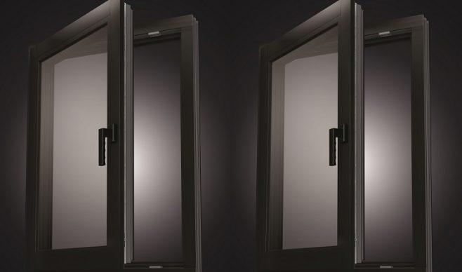 Chłodna elegancja aluminium w oknach z PVC