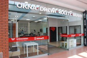 Salon sprzedaży okien i drzwi AIR z Lublina
